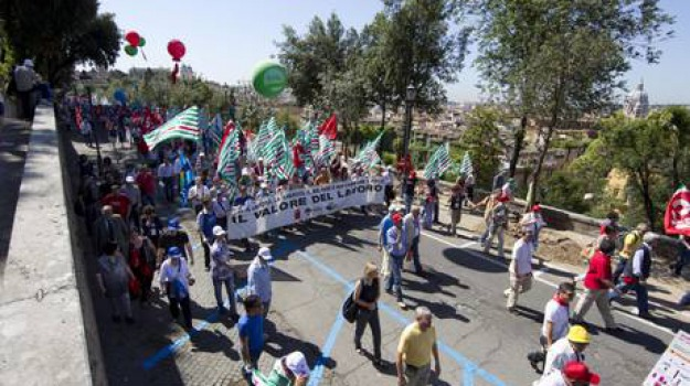lavoro sciopero calabria, Calabria, Archivio