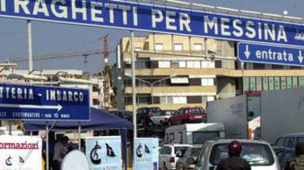 traghetti, Calabria, Archivio