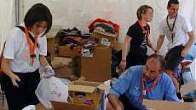 ansa, volontariato, Messina, Archivio