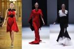 Trionfa il rosso fuoco per la moda delle feste