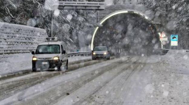 camigliatello, lorica, nevicata, Calabria, Archivio