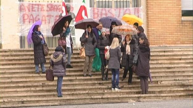 cosenza, sanità privata, sit-in, Cosenza, Archivio