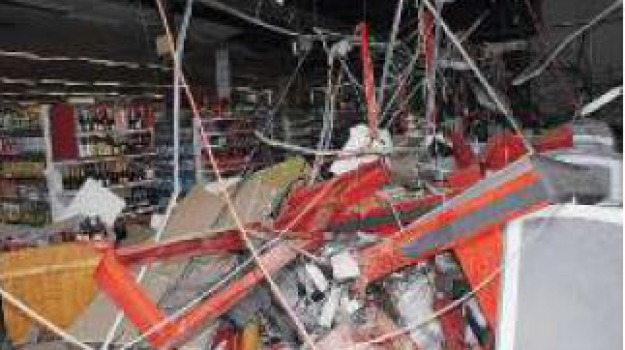 bomba, lamezia terme, supermercato, Catanzaro, Calabria, Archivio