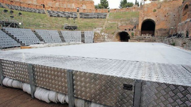 taormina teatro antico, Sicilia, Archivio