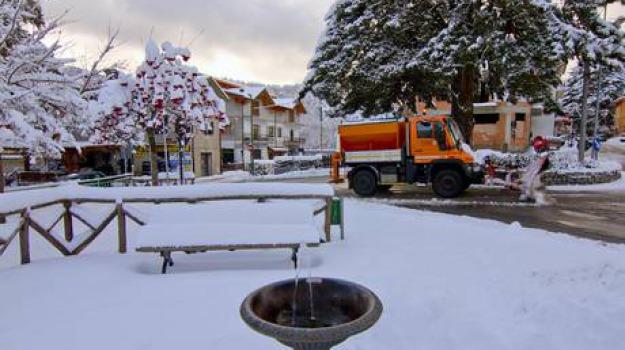 calabria, freddo, neve, Calabria, Archivio