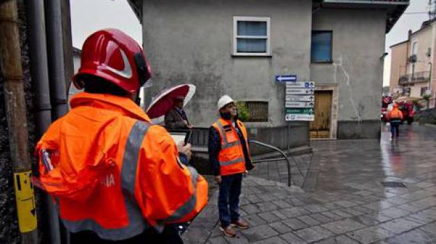 basilicata 2012, esercitazione, protezione civile, sisma, Calabria, Archivio