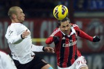 Milan-Reggina 3-0 Gli amaranto cedono alla distanza