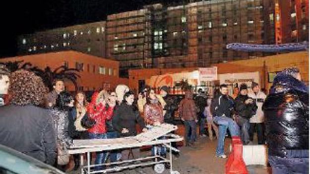 ospedale crotone, protesta precari, Catanzaro, Calabria, Archivio