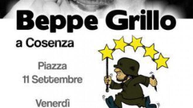 beppe grillo, cosenza, firma day, m5stelle, Cosenza, Calabria, Archivio