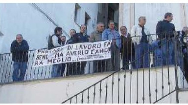 protesta, verbicaro, Calabria, Archivio