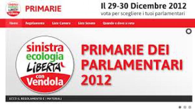 primarie sel calabria, voti validi, Cosenza, Calabria, Archivio