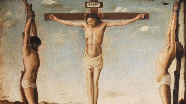 antonello da messina, crocifissione, Messina, Cultura