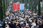 In migliaia per l'addio a Rita Levi Montalcini