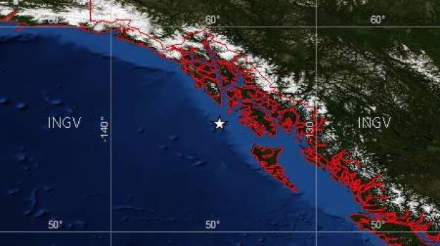 alaska, terremoto, tsunami, Sicilia, Archivio