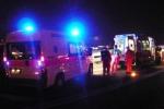 Auto fa strike di moto, un morto e quattro feriti