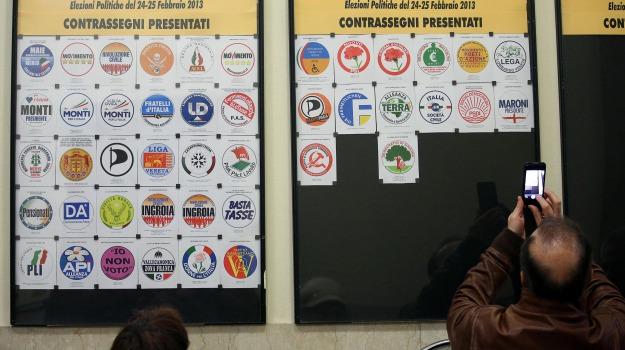 elezioni politiche, simboli, Calabria, Archivio, Cronaca