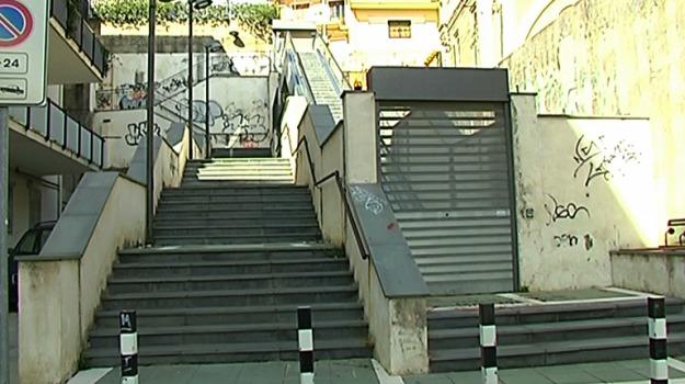 scale mobili via peculio frumentario, Messina, Archivio