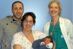 Primo parto senza dolore all'ospedale Dell'Angelo