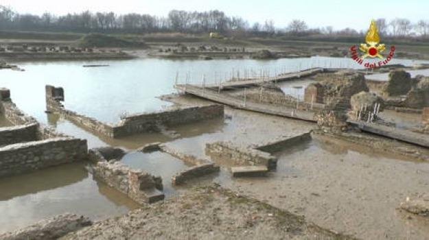 alluvuione, recupero, scavi sibari, unical, Cosenza, Calabria, Archivio