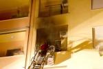 Incendio ad Alatri grave bimba di 18 mesi