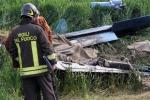 Precipita ultraleggero illesi i due piloti