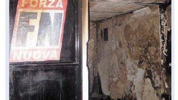 forza nuova incendiata, Cosenza, Calabria, Archivio