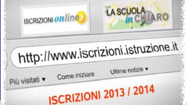 iscrizioni on line, Sicilia, Archivio, Cronaca