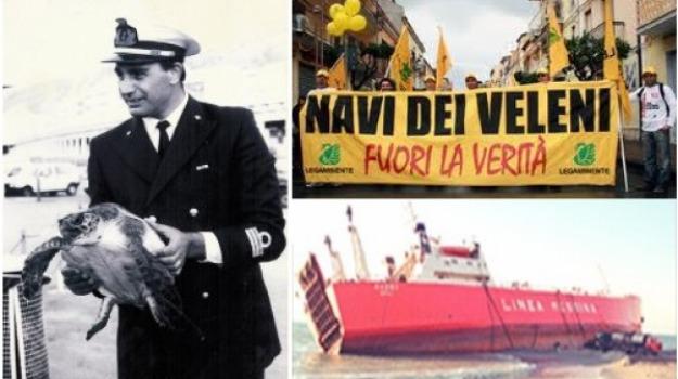 nave veleni, Calabria, Archivio