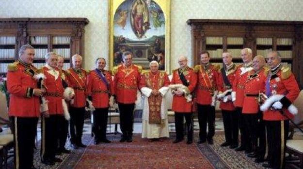 celebrazioni vaticano, cisom, diamante, ordine malta, roma, Calabria, Archivio