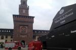 Milano, blitz di GreenPeace