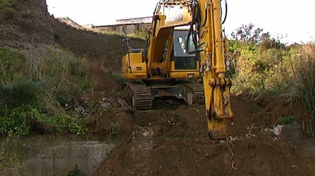 escavatore, operaio, pachino, Sicilia, Archivio