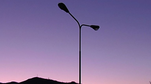 illuminazione pubblica, sicilia, Messina, Sicilia, Archivio