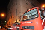 Brucia abitazione tre feriti gravi