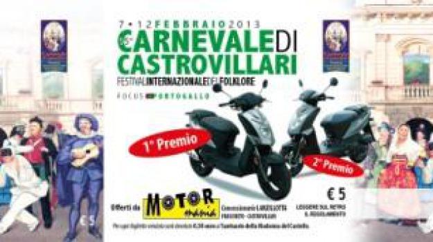 carnevale castrovillari, estrazione, premi lotteria, Calabria, Archivio