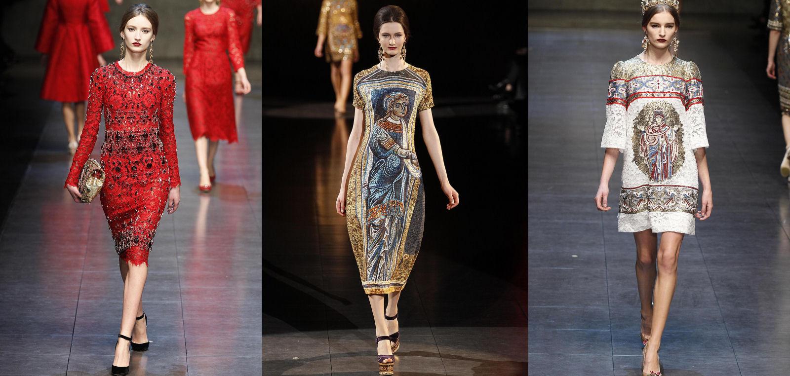 La regina del mosaico di Dolce e Gabbana - Gazzetta del Sud ed2da98909f