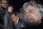 Unica certezza l'ingovernabilità Bersani-Grillo botta e risposta