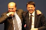 """Bersani-Renzi insieme per """"conquistare"""" il Nord"""
