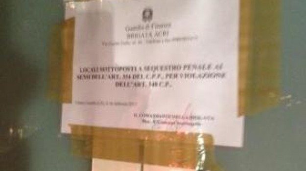 acri, falso dentista, fiamme gialle, sequestro, Calabria, Archivio