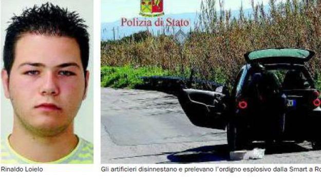 bomba in auto, Reggio, Calabria, Archivio