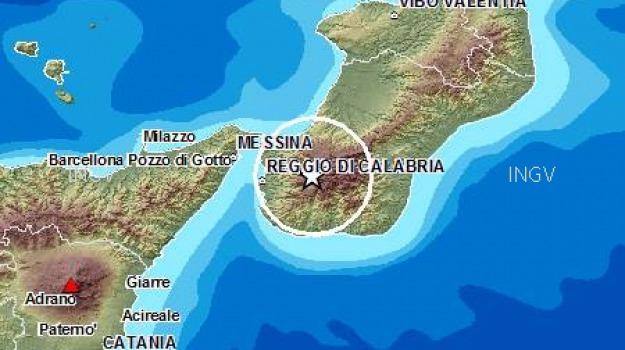 ingv, messina, reggio calabria, sisma, terremoto, Reggio, Messina, Calabria, Archivio