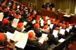 Cardinali in aula sinodo inizia la congregazione