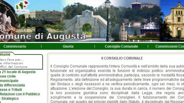 augusta, Sicilia, Archivio