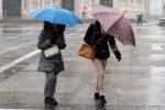 Maltempo, in arrivo vento e temporali sulla Sicilia