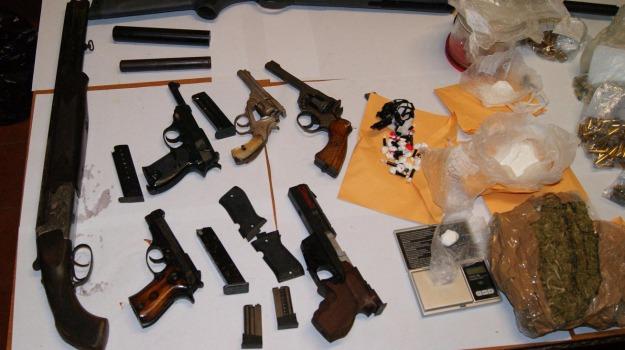 armi e droga, cap. vincenzo falce, carabinieri scalea, orsomarso, sequestro, Calabria, Archivio