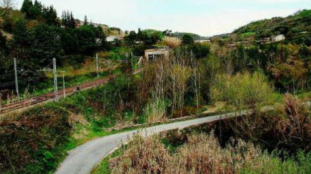 ferrovia, frana, Catanzaro, Calabria, Archivio