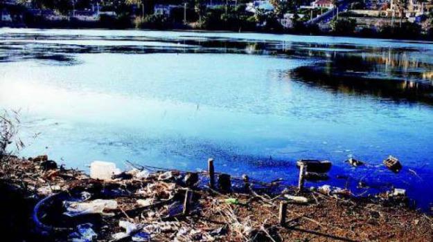 canottaggio, lago di ganzirri messina, rifiuti, Alessandro Russo, Giovanni Ficarra, Messina, Sicilia, Cronaca