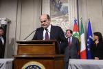 """""""Bersani ha fallito L'Italia in stallo"""""""