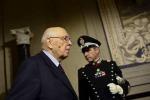Napolitano prosegue consultazioni flash