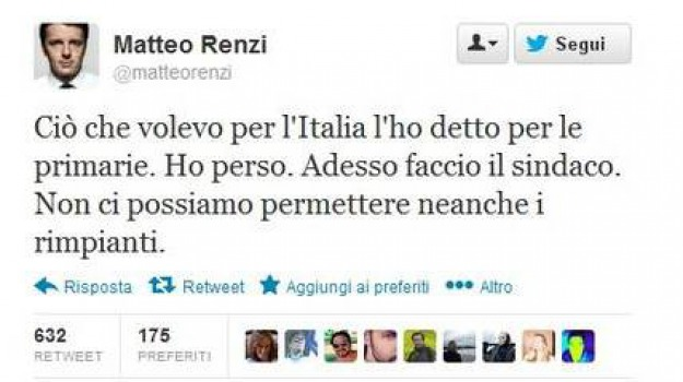 premier, renzi, tweet, Sicilia, Archivio, Cronaca