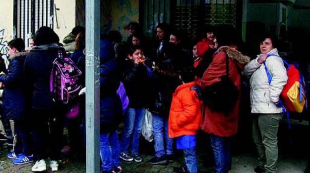 mensa scolastica, Catanzaro, Calabria, Archivio